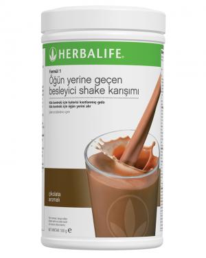 Besleyici shake karışımı Formül 1 Çikolata